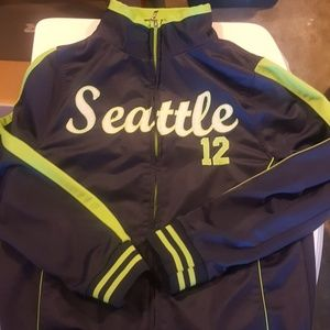 Youth Seattle Seahawks zip up jacket